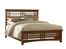 Hot Sale Leggett and Platt Fashion Bed Group Avery Bed, King, Brown