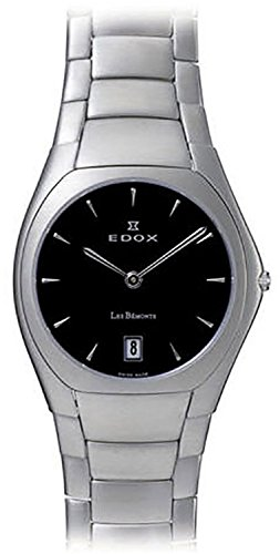 Edox Les Bémonts Ultra Slim relojes unisex 27006-3P-NIN