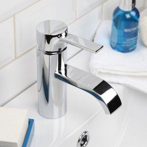 Fili Contemporary Styled Mono Mixer Bathroom Tap