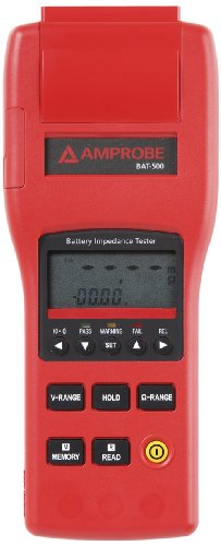 Amprobe BAT-500 Battery Impedance Tester, 0-40V