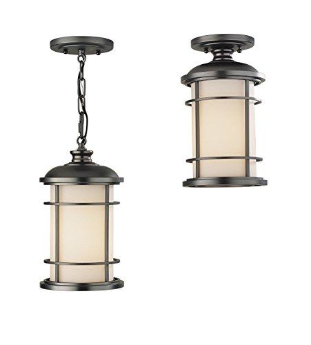 Murray Feiss OL2209BB-LA, Lighthouse Outdoor Ceiling Lighting LED, Bronze