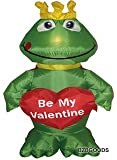 4 Foot Inflatable Frog with Heart Be My Valentine - romantic Valentines Gifts for Couples, Cute Valentines Day Gift Ideas, Good Couple Gifts for Valentines, Romantic Anniversary Gifts