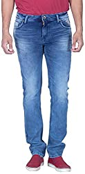 INTEGRITI Men'S Slim Fit Jeans (Attitude-207.S Lnft Mstn_32, Blue, 32)