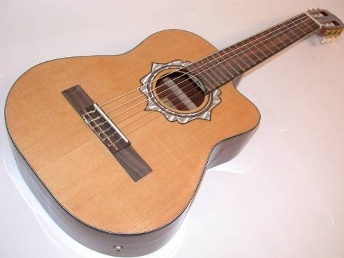 best price rossetti 1183f requinto acoustic electric guitar mexican style on sale guitars. Black Bedroom Furniture Sets. Home Design Ideas