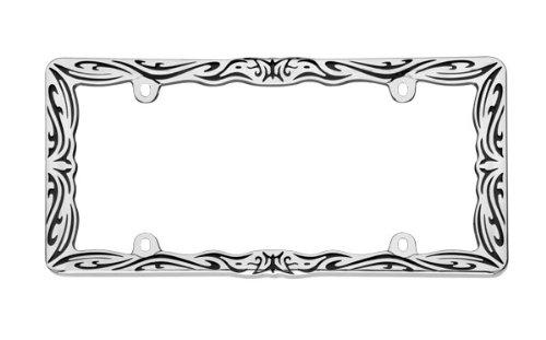 Cruiser Accessories 22135 Chrome/Black Tribal II Frame