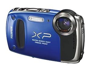 Fujifilm FinePix XP50 Digital Waterproof Camera - Blue (14MP CMOS, 5x Optical Zoom) 2.7 inch LCD Screen