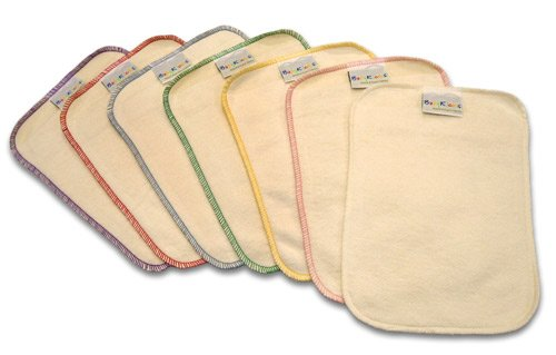 BabyKicks 7 Piece Premium Baby Wipes, Colors May Vary, One Size - 1