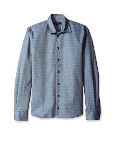 Lipson Men's Think Check Flannel Sportshirt