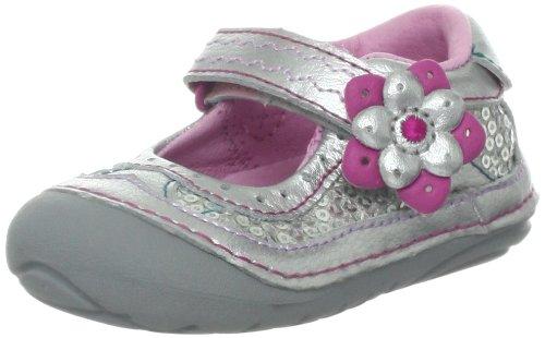 Stride Rite Srt Sm Adeline 425 Mary Jane Sneaker (Infant/Toddler),Silver Sparkle,5.5 M Us Toddler front-739375