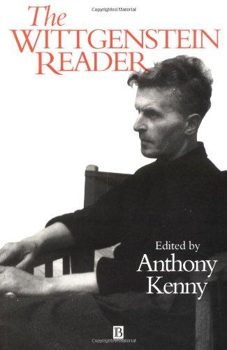 Wittgenstein Reader: 1 (Blackwell Readers)