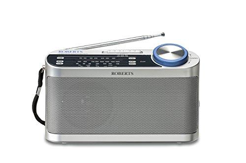 Roberts-Radio-Classic-993-Analogradio-FM-MW-LW-wavebands-silber