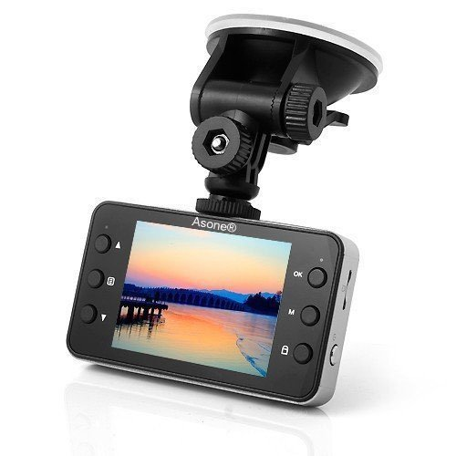 "Asone® 1080P Fahrzeug Car Dashboard IR HD DVR Kamera Video Recorder 2.7 ""Farb-LCD mit 8GB-Karte"