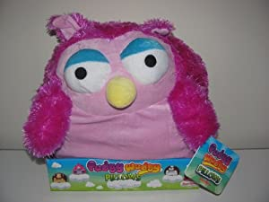 Pudgy Wudgy Pillows Magenta Owl