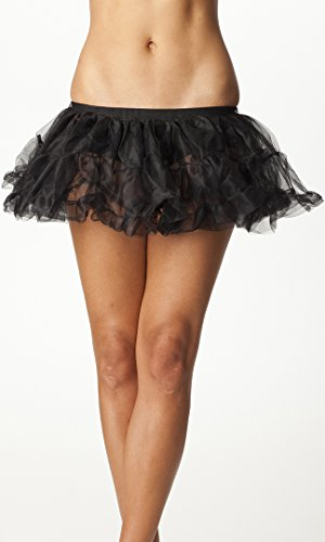 Forplay Women's Petticoat Ruffle Trim