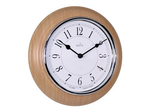 acctim-24581-newton-light-wood-wall-clock