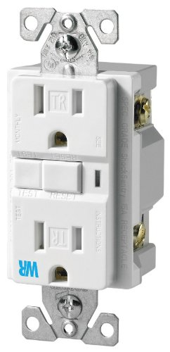 Cooper Wiring Devices TWRVGF15W-SP 15-Amp Commercial Grade T