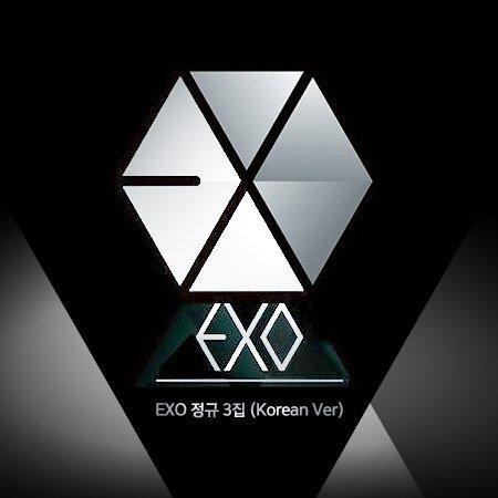 (翻訳付) 初版 EXO 正規3集 EX'ACT 韓国語 Ver (韓国盤)(2枚初回ポスター/特典付)(ワンオンワン店限定)