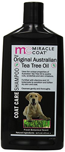 Miracle Coat Original Tea Tree Shampoo 16-Ounce
