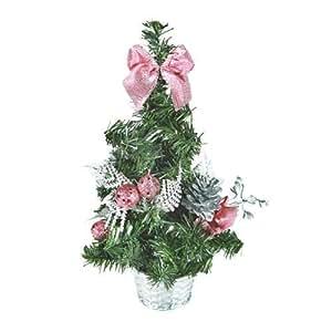 Amazon.com - Árbol de Navidad Pequeño con Adornos -