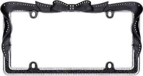 I LOVE PENGUINS Chrome Steel Heavy Duty License Plate Frame Tag Holder