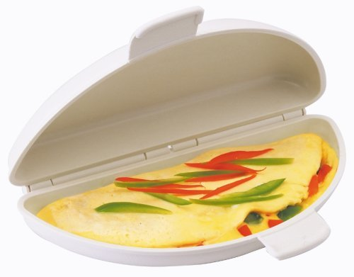Progressive GMMC-70 Microwave Omelet Maker, Holds Up To 4 Eggs