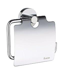 smedbo home toilettenpapierhalter mit deckel hk 3414 ohne. Black Bedroom Furniture Sets. Home Design Ideas