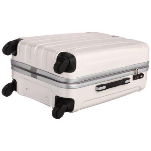 [ピジョール] PUJOLS ピジョール アイアンIII スーツケース 60cm・57リットル・3.6kg 05723 06 (ホワイトカーボン)