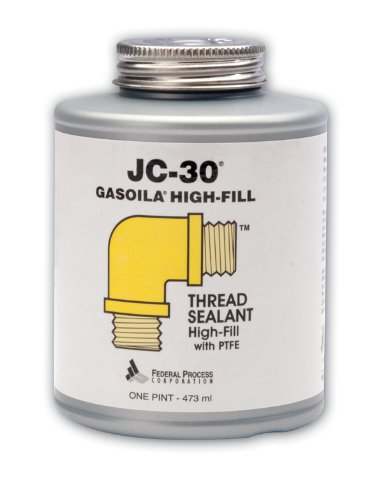 Gasoila JC-30 PTFE High-Fill Thread Sealant, 1 pint Can (Gas Freon 22 compare prices)
