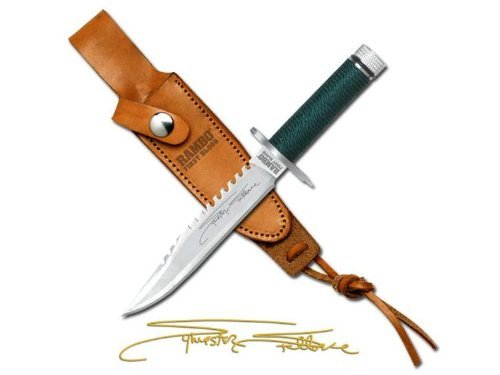 Officially Licensed RAMBO I MC-RBM1SS Officially Licensed First Blood Miniature Signature Edition Knife 5.75-Inch Overall