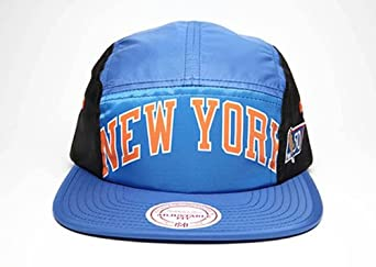 New York Knicks Mitchell & Ness 5 Panel HWC Camper Clipback Hat by Mitchell & Ness