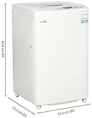 Godrej WT600C Fully-automatic Top-loading Washing Machine (6 Kg, Silky Grey)