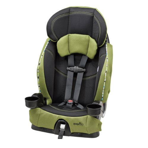 Find Bargain Evenflo Chase Harnessed Booster Car Seat, Laguna