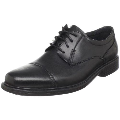 Bostonian Men'S Wenham Dress Lace Up,Black Leather,15 M Us