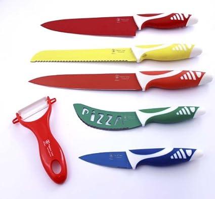 Original juego de cuchillos cerámicos de colores