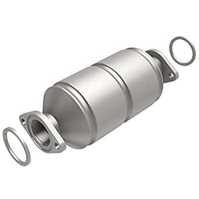 MagnaFlow 339886 Large Stainless Steel CA Legal Direct Fit Catalytic Converter