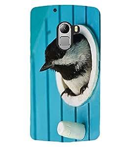 ColourCraft Lovely Bird Design Back Case Cover for LENOVO VIBE K4 NOTE