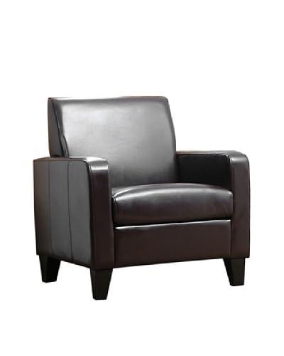 Abbyson Living Saraleen Bicast Leather Armchair