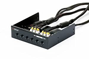 """ORICO HD-PW6101 6-fach HDD Power Switch für 5,25"""" Einschub"""
