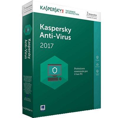 KASPERSKY ANTIV. 17 3US