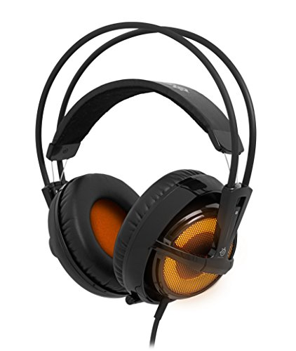 SteelSeries Siberia v2 Full-size Heat Orange Edition Micro-Casque PC Gaming avec USB virtual surround