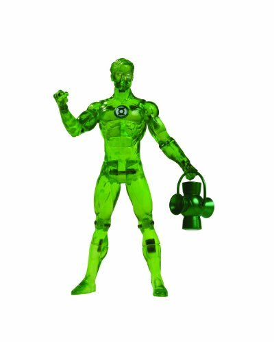 DC Direct Green Lantern Series 4: Green Lantern Hal Jordan (Power Glow) Action Figure by DC Comics