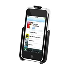RAM Mounts (RAM-HOL-AP7) Model Specific Cradle for the Apple Ipod touch (2Nd Gen) and Ipod touch 3G without Case Skin Or Sleeve
