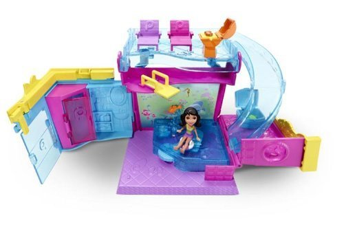 Polly Pocket Pollyville Pool Playset by Polly Pocket jetzt bestellen