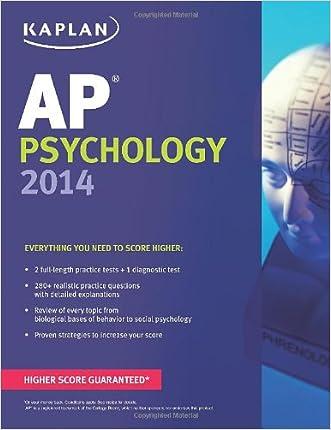 Kaplan AP Psychology 2014 (Kaplan Test Prep)