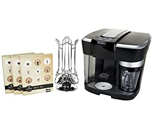 Keurig Rivo R500 Cappuccino & Latte System w/30 Rivo Packs & Carousel from Keurig