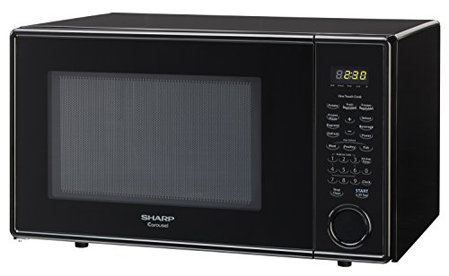 Sharp Countertop Microwave Oven Zr309yk : Sharp Countertop Microwave Oven ZR309YK 1.1 cu. ft. 1000W Black Home ...