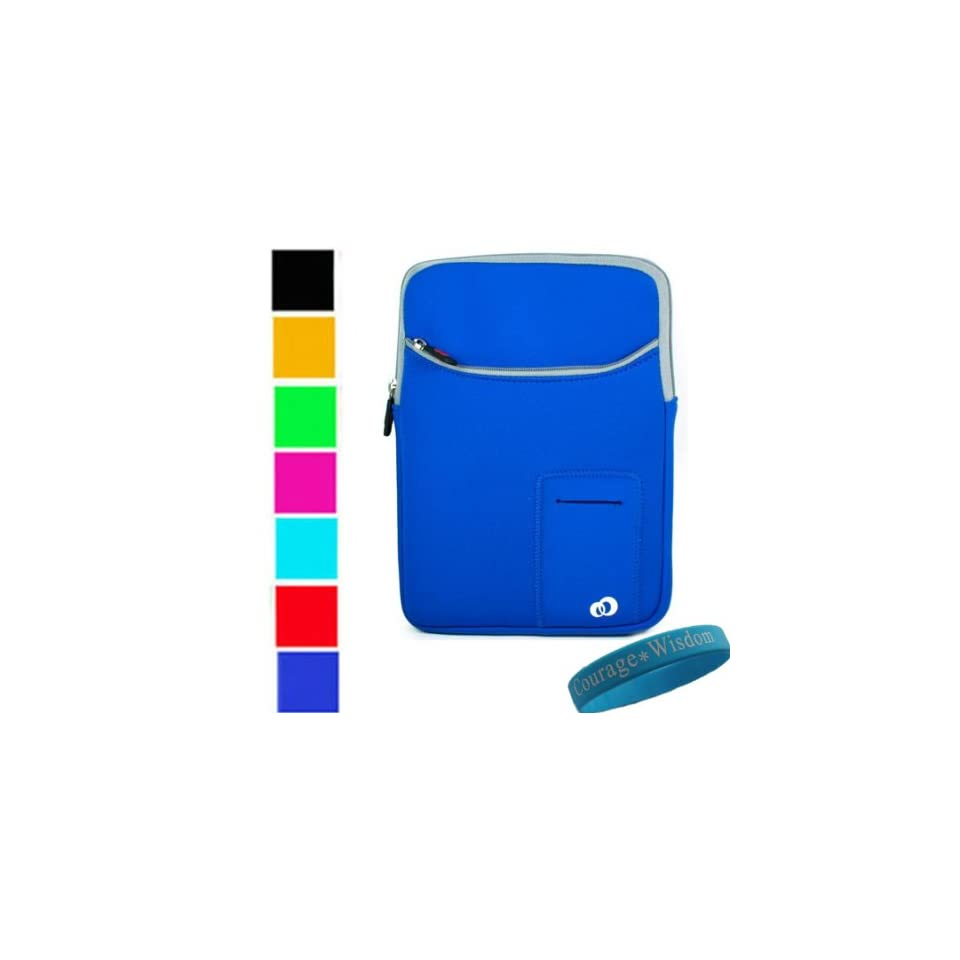 Assorted Colors   Durable Neorpene Sleeve Case with Extra Pocket Compatible Dell Inspiron Mini 9 Mini 10 Inch 8.9 Dell Mini 10 Notebook 10 inch   (Dell Inspiron NOT Included) (Orange)