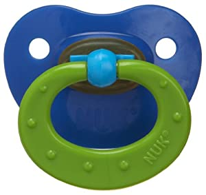 NUK Classic Latex BPA Free Pacifier, Size 3, Single Pack, Colors May Vary (Discontinued by Manufacturer)