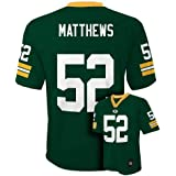 Clay Matthews Green Bay Packers Green NFL Youth 2015-16 Season Mid-tier Jersey