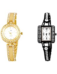 WATCH ME COMBO GIFT SET OF WATCHES FOR WOMEN WM-121G-117B